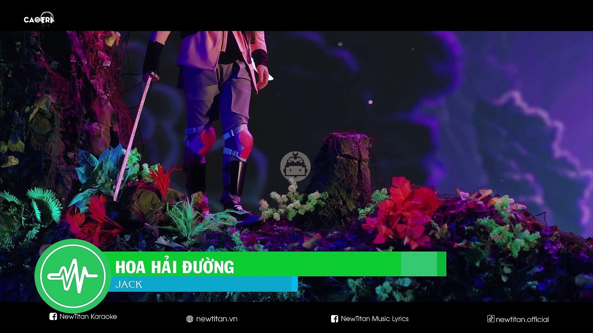 [Karaoke] Hoa Hải Đường - Jack [Beat]