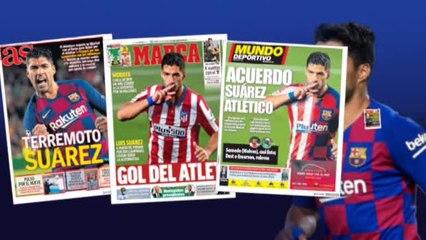 Bartomeu bloquea el fichaje de Suárez por el Atlético