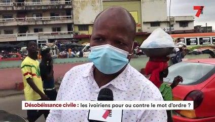 Désobéissance civile   Les ivoiriens pour ou contre le mot d'ordre?