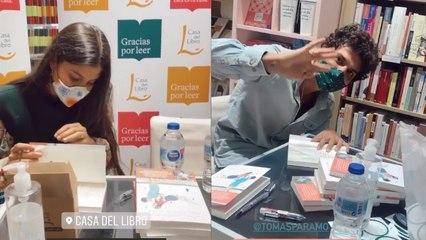 María García de Jaime y Tomás Páramo lanzan su primera novela