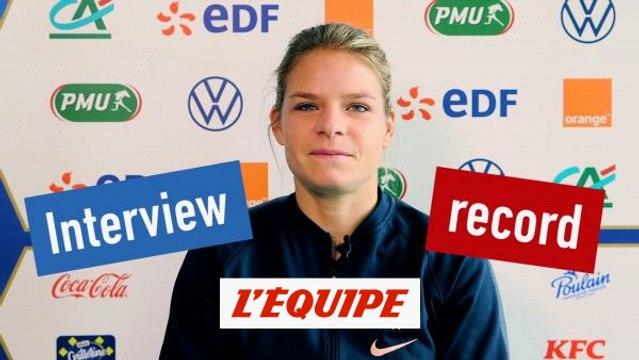 L'interview record d'Eugénie Le Sommer - Foot - Bleues
