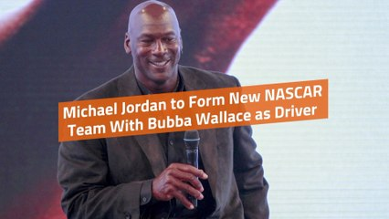 Michael Jordan Creates NASCAR Team