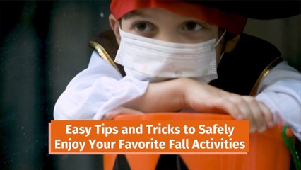 Fall Activities With A Mask