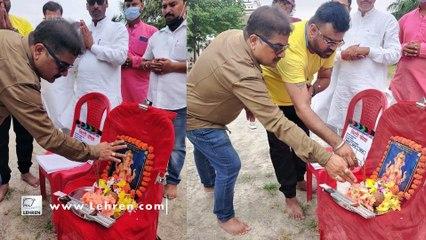ख़ेसारी लाल यादव की फ़िल्म ' लिट्टी चोखा' की शूटिंग शुरू   Kajal Raghwani