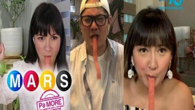 Mars Pa More:  Paasiman at patamisan sa 'Candy Strip Eating' game | Mars Magaling