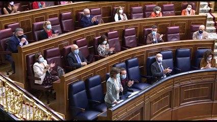 Enfrentamiento en el pleno del Congreso marcado por la ausencia de Sánchez