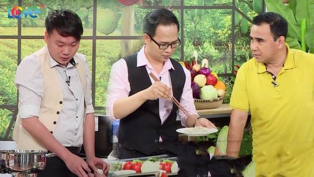 Màn so tài nấu nướng của hai anh chồng khiến MC Quyền Linh đứng ngồi không yên