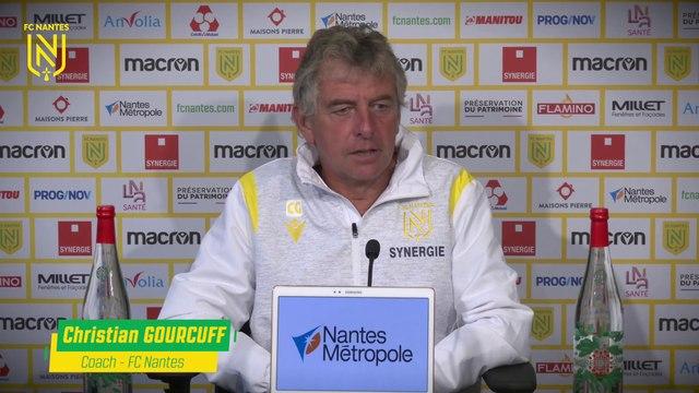 Christian Gourcuff avant LOSC - FC Nantes