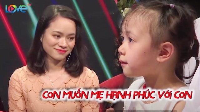 Hạnh phúc dù vắng bóng cha từ nhỏ, con gái 5 tuổi đưa mẹ lên truyền hình để hưởng trọn hạnh phúc