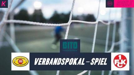 Amateure beweisen Kampfgeist | SG Meisenheim - 1. FC Kaiserslautern (4. Runde, Pokal) | Präsentiert von BITO-Lagertechnik