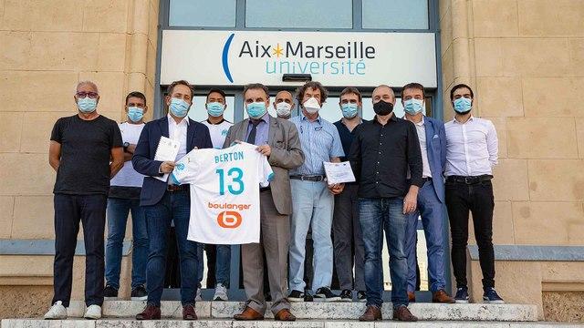 Le partenariat OM x Aix-Marseille Université