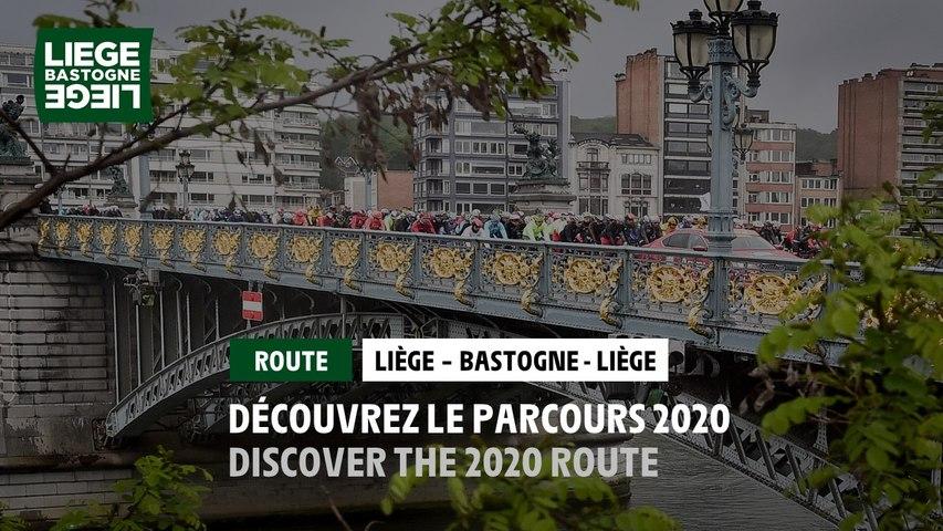 Liège-Bastogne-Liège 2020 - The Route / Le Parcours - Men / Homme