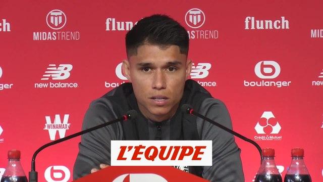 Araujo : «Je ne suis pas qu'un joueur de banc» - Foot - L1 - Lille