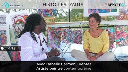 HISTOIRES D'ARTS : Isabelle Carmen Fuentes Artiste peintre contemporaine