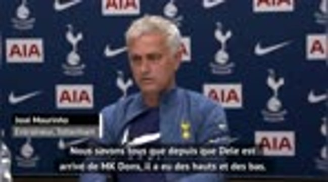 """Tottenham - Mourinho : """"Dele doit nous prouver ses qualités"""""""