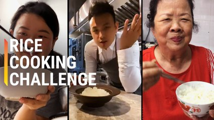 Amateur, Pro, and Grandma Try Cooking Rice Without a Rice Cooker