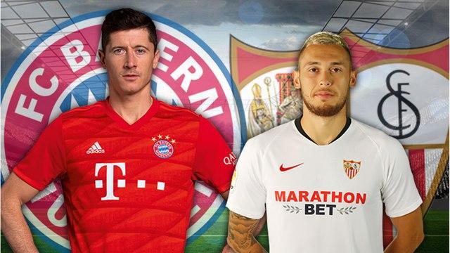 Bayern Munich - Séville FC : les compos probables