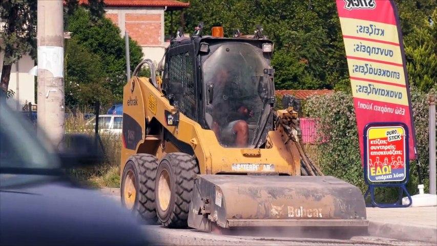Ασφαλτοστρώνεται η οδός Αθηνών στην Αλίαρτο