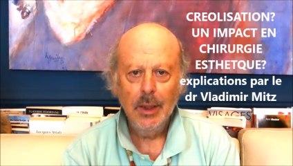 créolisation et chirurgie esthétique, explications Dr Vladimir Mitz