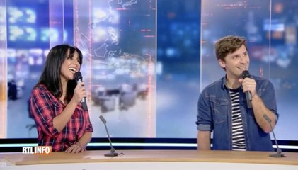 Maria del Rio et Suarez dévoilent leur duo au RTL Info 13h