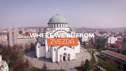 Where we're from: Crvena Zvezda mts Belgrade