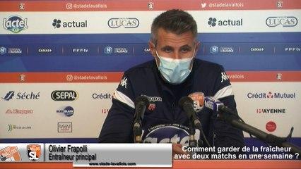 (J07) QRM vs Laval, avant-match avec O.Frapolli