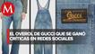 Critican marca 'Gucci' por vender pantalones manchados de pasto a casi 30 mil pesos
