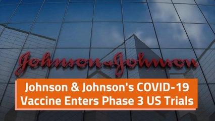 Johnson And Johnson's COVID-19 Vaccine Update