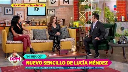 ¿Lucía Méndez iniciará programa en redes sociales?