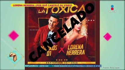 ¿Lorena Herrera cancela grabación  por bronconeumonía?