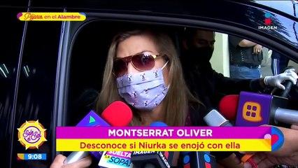 ¿Montserrat Oliver corrió a Niurka de su programa? La mujer escándalo responde
