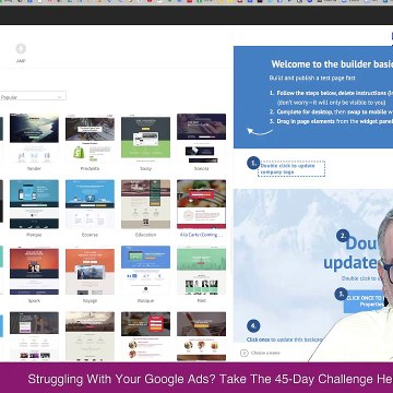 Unbounce Tutorial | How To Design & Create An Unbounce Landing Page For Google Ads