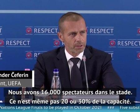 """Supercoupe de l'UEFA - ?eferin : """"Nous voulons apporter de l'espoir"""""""