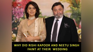 Why did Rishi Kapoor and Neetu Singh  faint at their  wedding