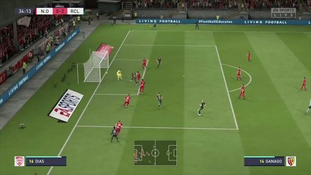 Nîmes - RC Lens : notre simulation FIFA 20 (L1 - 5e journée)