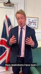 Peterborough MP Paul Bristow on coronavirus restrictions
