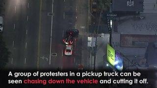 Breonna Taylor: Car Drives Through Protesters
