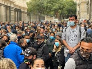 Marseille : Mobilisation des restaurateurs contre les annonces d'Olivier Véran