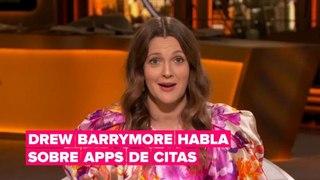 Drew Barrymore y Sharon Stone hablan sobre su experiencia con aplicaciones de citas