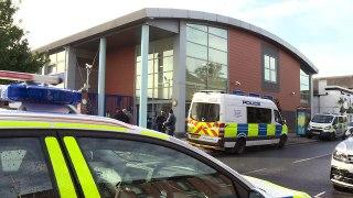 Police officer shot on duty at Croydon Custody Centre