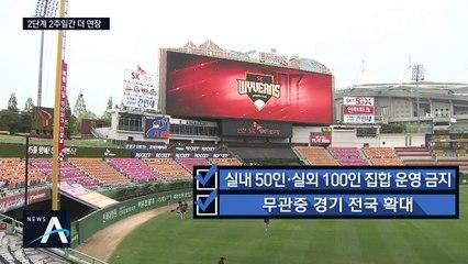 거리두기 2단계 2주 연장…'비수도권' 방역 조치 강화