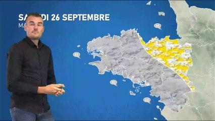 Illustration de l'actualité La météo de votre samedi 26 septembre 2020