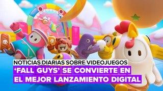 'Fall guys' se convierte en el mejor lanzamiento digital