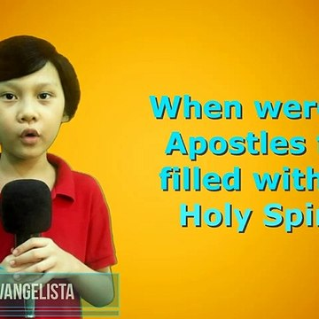 Bible Trivia: Apostles First Filled With The Holy Spirit
