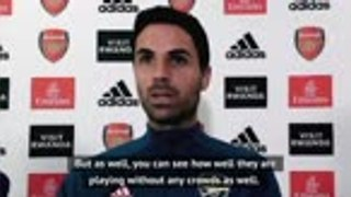 'We will have to suffer' - Arteta on Liverpool test