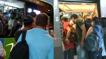 Aglomeraciones en transporte público de Cali y Medellín