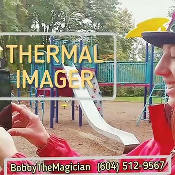Vancouver thermographer, Vancouver thermography, safeguarding party guests, party at the park, North Vancouver, Metro Vancouver, BC, British Columbia, Canada, fever screening, thermal imaging, birthday party