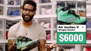 Nate Burleson Shows Off His Rarest Air Jordan Sneakers & More