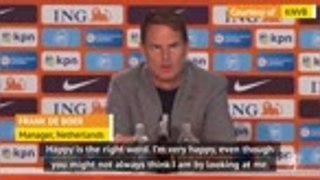De Boer 'happy and proud' to be named Netherlands boss