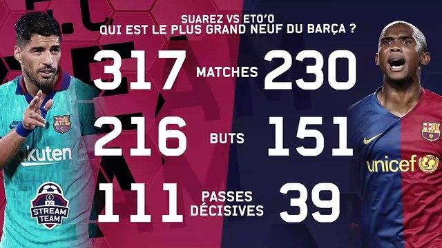 Suarez ou Eto'o : Qui est le plus grand avant-centre du Barça au XXIe siècle ?